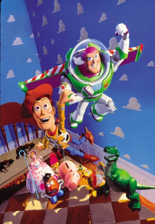 Toy Story © 1995, The Walt Disney Company/The Kobal Collection